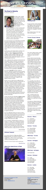 Magazines | Church of God International, Canada